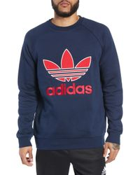 adidas Originals - Applique Logo Graphic Sweatshirt - Lyst