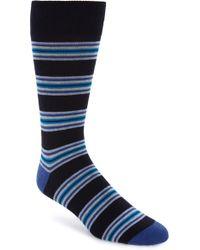 Calibrate - Rowes Stripe Socks - Lyst