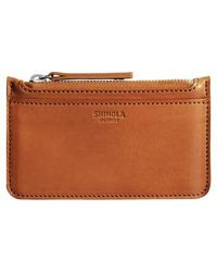 Shinola | Leather Zip Pouch | Lyst
