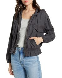 Splendid - Splended Bodhi Hooded Jacket - Lyst