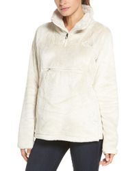 The North Face - Osito Sport Hybrid Pullover Jacket - Lyst