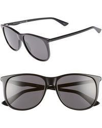 acb54ee94be Lyst - Gucci  1047s  56mm Sunglasses in Black for Men