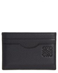 Loewe - Calfskin Leather Card Case - Lyst