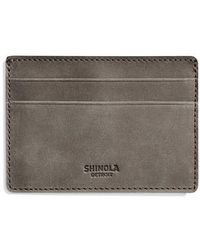 Shinola - Outrigger Id Leather Card Case - Lyst