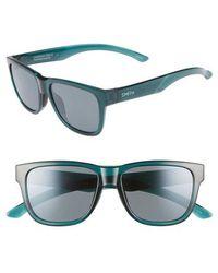 467dd587157 Smith - Lowdown Slim 2 53mm Chromapop(tm) Polarized Square Sunglasses - -  Lyst
