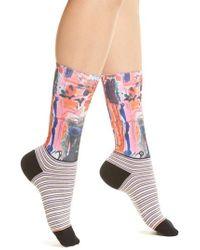 Stance - Yes, Darling Crew Socks - Lyst