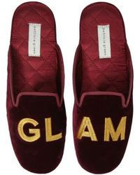 Patricia Green - Glam Embroidered Slipper - Lyst