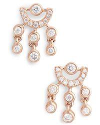 Dana Rebecca | Lulu Jack Diamond Drop Earrings | Lyst