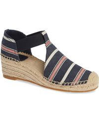 a1a1c9046fa105 Tory Burch - Catalina 3 Espadrille Wedge Sandal - Lyst