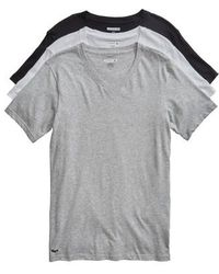 Lacoste - Assorted 3-pack Supima Cotton V-neck T-shirts - Lyst