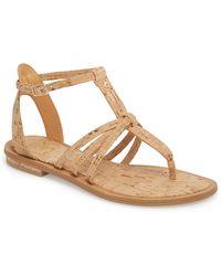 7d5288aae8d Lyst - Isola Marisa Flat Sandals