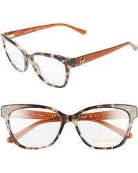 Tory Burch - 53mm Optical Glasses - - Lyst