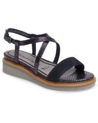 Tamaris - 'eda' Platform Wedge Sandal - Lyst