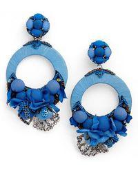Ranjana Khan - Posie Large Drop Earrings - Lyst
