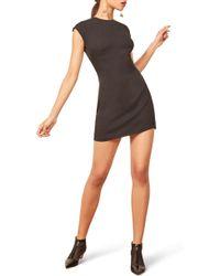 Reformation - Lilah Back Keyhole Body-con Minidress - Lyst