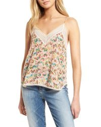 Zadig & Voltaire - Christy Butterfly Silk Camisole - Lyst