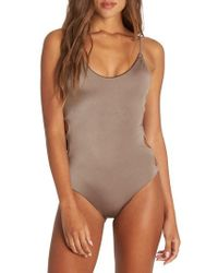 Billabong - Sol Searcher One-piece Swimsuit - Lyst