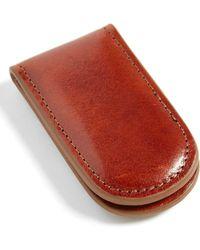 Bosca - Leather Money Clip - Lyst