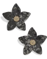 BaubleBar - Adelissa Flower Earrings - Lyst