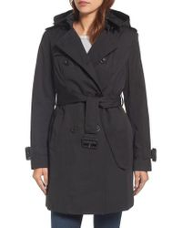London Fog - Heritage Trench Coat With Detachable Liner - Lyst
