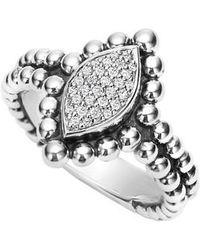 Lagos - Caviar Spark Diamond Marquise Ring - Lyst