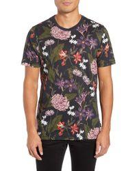 Ted Baker - Glee Slim Fit Print T-shirt - Lyst