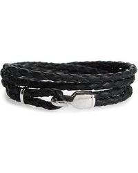 Miansai - Braided Leather Bracelet - Lyst