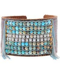 Nakamol - Stone Cuff Bracelet - Lyst