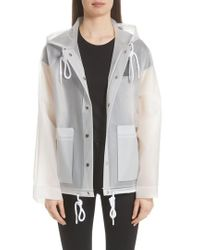 Proenza Schouler - Pswl Graphic Raincoat - Lyst