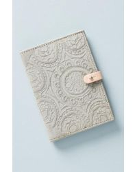Anthropologie - Foxglove Suede Passport Cover - Lyst
