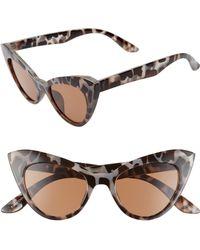 856340b695 Glance Eyewear - 48mm Exaggerated Cat Eye Sunglasses - Lyst