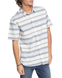 Quiksilver - Good Wall Ii Woven Shirt - Lyst