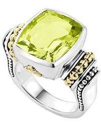 Lagos | 'caviar Color' Medium Semiprecious Stone Ring | Lyst