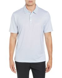 Cutter & Buck - Harbor Print Drytec Moisture Wicking Polo - Lyst