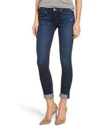 Hudson Jeans - Tally Crop Skinny Jeans - Lyst