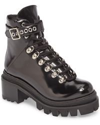 Jeffrey Campbell - Czech Lace-up Boot - Lyst