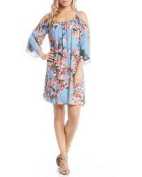 Karen Kane - Floral Fresco Dress - Lyst