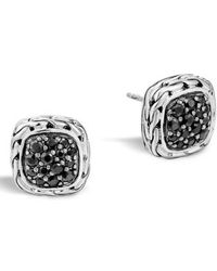 John Hardy - 'classic Chain' Small Square Stud Earrings - Lyst