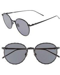 Valley Eyewear - Corpus 53mm Round Sunglasses - Lyst