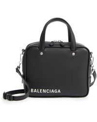 Balenciaga - Extra Small Triangle Leather Satchel - - Lyst