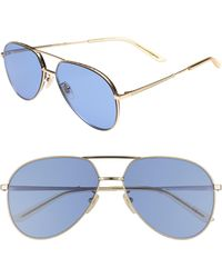 f2e818c44c8 Lyst - Gucci 56mm Wayfarer Sunglasses in Blue for Men