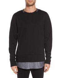 Twenty - Double Layer Pullover - Lyst