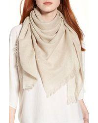 Eileen Fisher - Organic Cotton Blend Wrap - Lyst