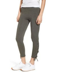 Sundry | Lace-up Ankle Leggings | Lyst