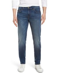 True Religion - Geno Straight Leg Jeans - Lyst