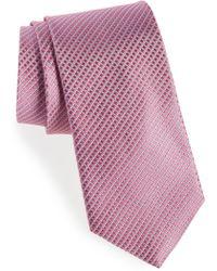 Nordstrom - Bucaro Micro Pattern Silk Tie - Lyst