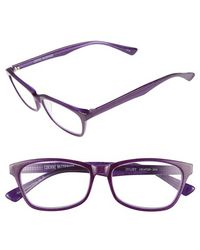 Corinne Mccormack - 'juliet' 53mm Reading Glasses - Purple - Lyst