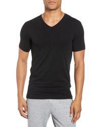 Joe's - 2-pack V-neck T-shirt, Black - Lyst