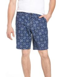French Connection - Franju Floral Cotton Shorts - Lyst
