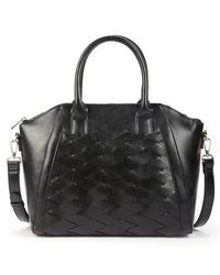 Sole Society - Adrina Faux Leather Satchel - Lyst